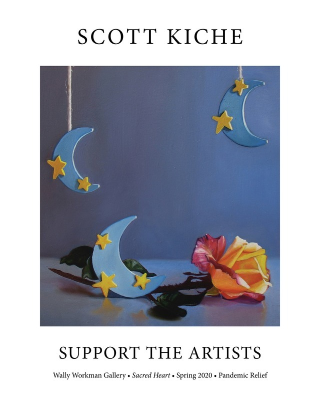 Scott Kiche, Support The Artists poster