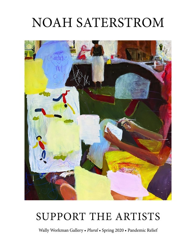 Noah Saterstrom, Support The Artists poster