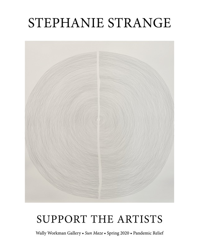 Stephanie Strange, Support The Artists poster