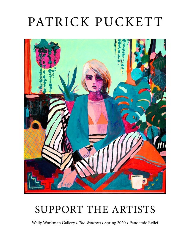Patrick Puckett, Support The Artists poster