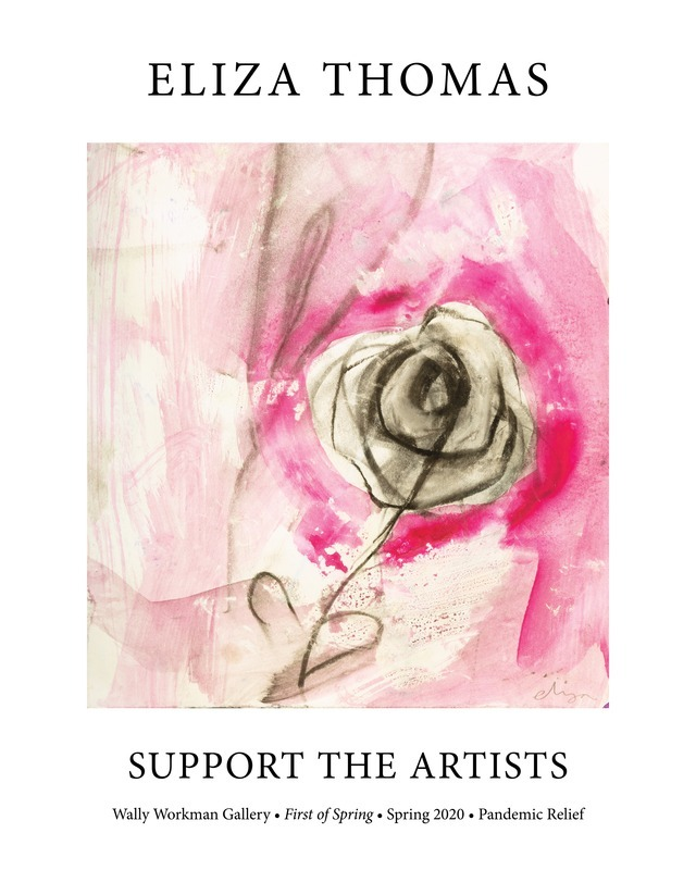 Eliza Thomas, Support The Artists poster