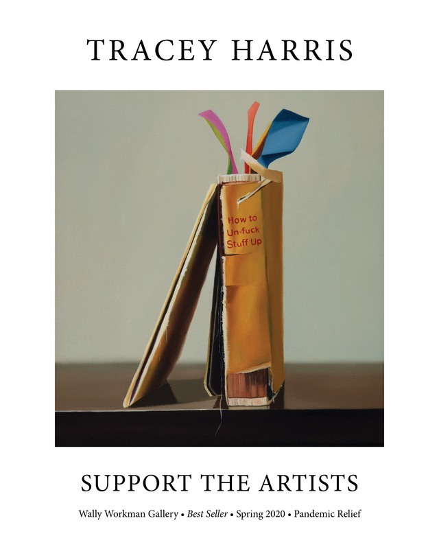 Tracey Harris, Support The Artists poster