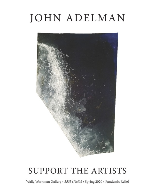 John Adelman, Support The Artists poster