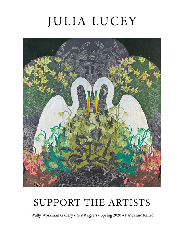 Julia Lucey, Support The Artists poster