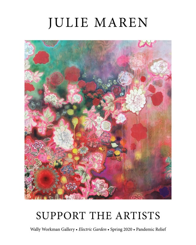 Julie Maren, Support The Artists poster