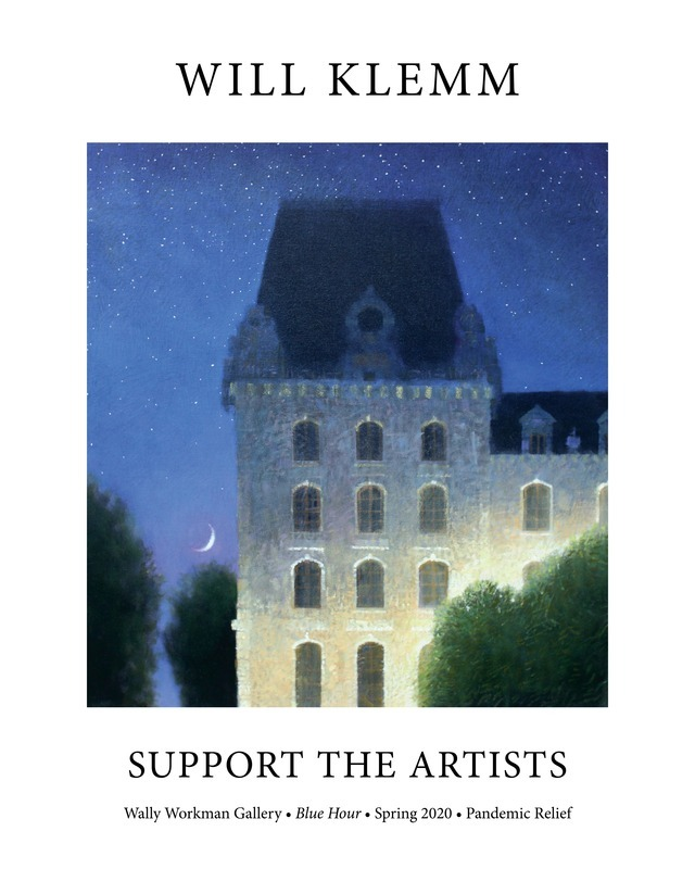 Will Klemm, Support The Artists poster